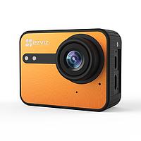 Экшн-камера Ezviz S1C (CS-SP206-A0-54WFBS), цвет оранжевый, фото 1