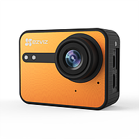 Экшн-камера Ezviz S1C (CS-SP206-A0-54WFBS), цвет оранжевый