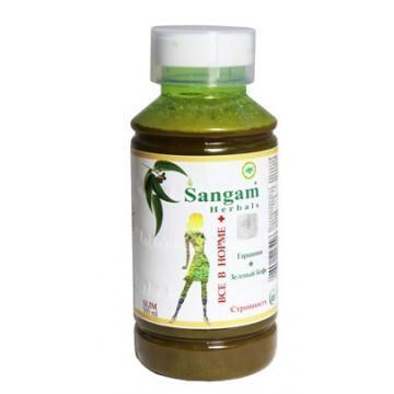 """Натуральный сок для похудения """"Все в норме плюс"""", 500 мл, Сангам"""