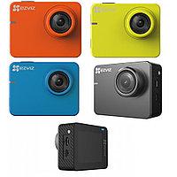 Экшн-камера Ezviz S3 (CS-SP206-C0-68WFBS), цвет оранжевый