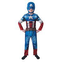 Костюм карнавальный Капитан Америка.Классик S