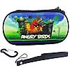 Чехол на молнии с 3D картинкой PSP 1000/2000/3000 3in1 3D picture, Angry Birds
