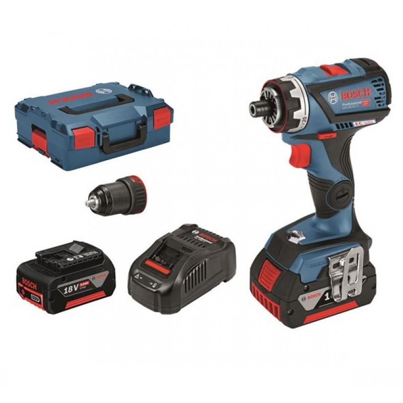 Аккумуляторный шуруповерт, Bosch GSR 18V-60 FC Professional, 0 601 9G7 101