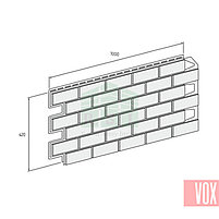 Фасадная панель VOX Solid Brick Coventry (светлый кирпич), фото 3