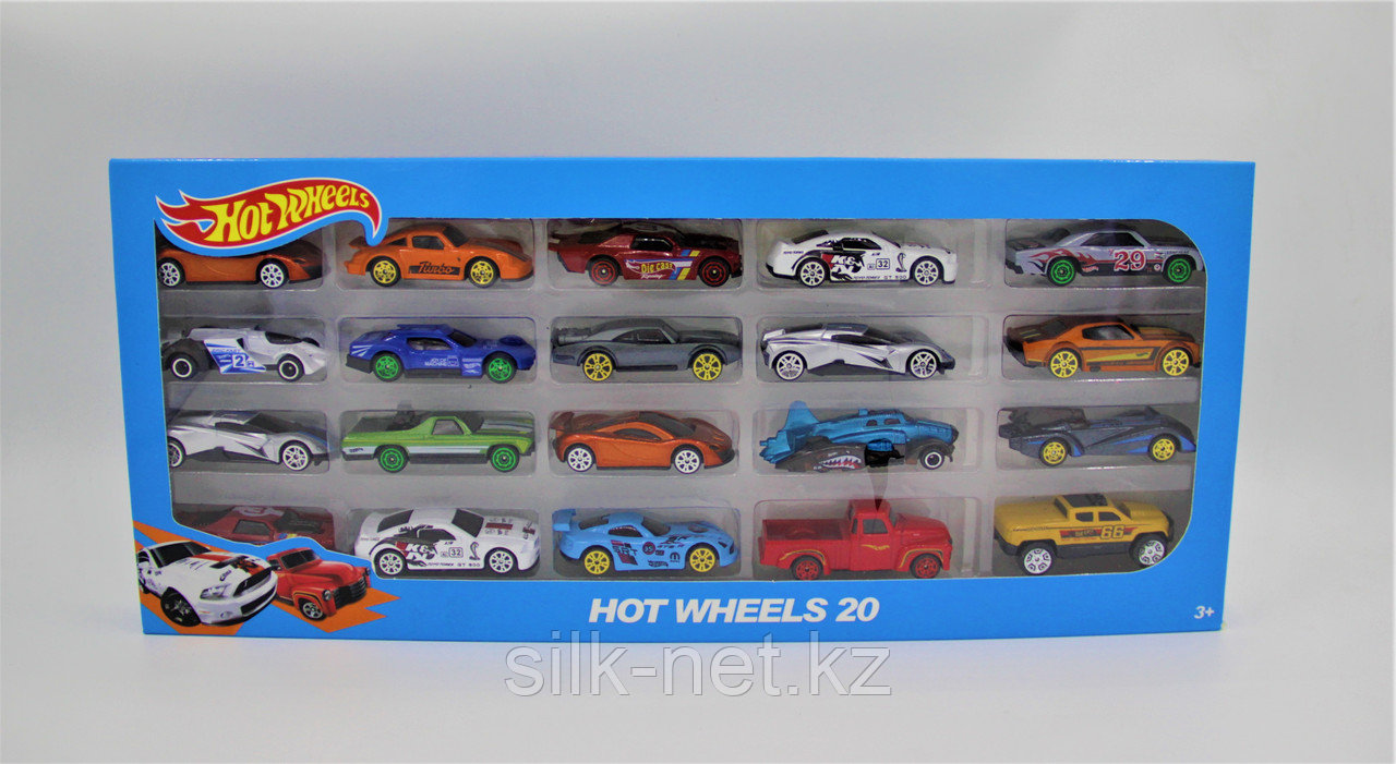"""Игрушка """"Hot Wheels"""", гоночные машинки, 20 шт"""