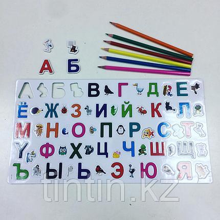 Магнитные буквы 35 х 19см (русский алфавит), фото 2
