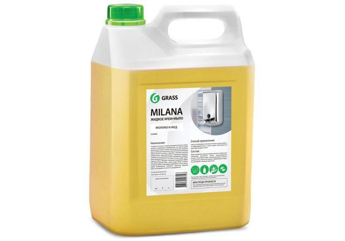 Жидкое крем-мыло Milana молоко и мед               , фото 2