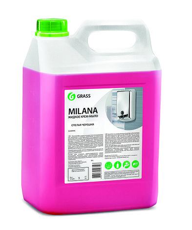 Жидкое мыло Milana черника в йогурте       , фото 2