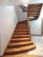 Обшивка каркаса лестницы