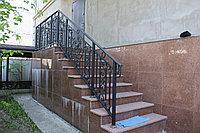 Лестница уличная с ограждением