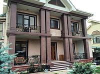 Фасадные отделочные работы из натурального камня