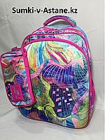 Школьный рюкзак для девочек Glossy Bird, 4-6 класс.Высота 42 см, длина 31 см, ширина 19 см., фото 1