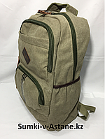 Городской джинсовый рюкзак.Высота 48 см, длина 29 см, ширина 16 см., фото 1