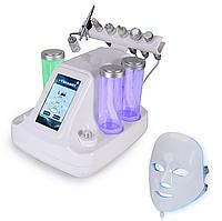 Косметологический комбайн 7 в 1: RF лифтинг, ГЖП, микротоки, креонотерапия, LED маска,микродермабразия