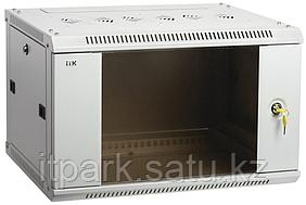 Шкаф LINEA W 15U 600x450 мм дверь стекло, RAL7035 LWR3-15U64-GF ITK