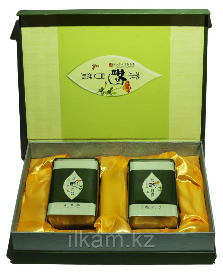 Чай зелёный Лонг Джин, подарочный набор, 150 г