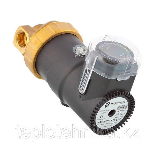 Циркуляционный насос SAN ECO 15\15 BU c таймером для систем ГВС (бронзовые)