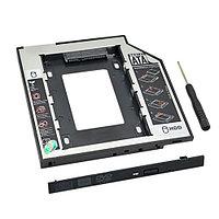 Корпус DVD-RW Адаптер V-T Optibay для подключения HDD 2.5'' в отсек привода ноутбука, 12,7мм