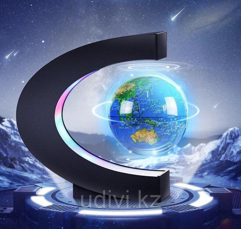 Левитирующий глобус с  нанесением логотипа