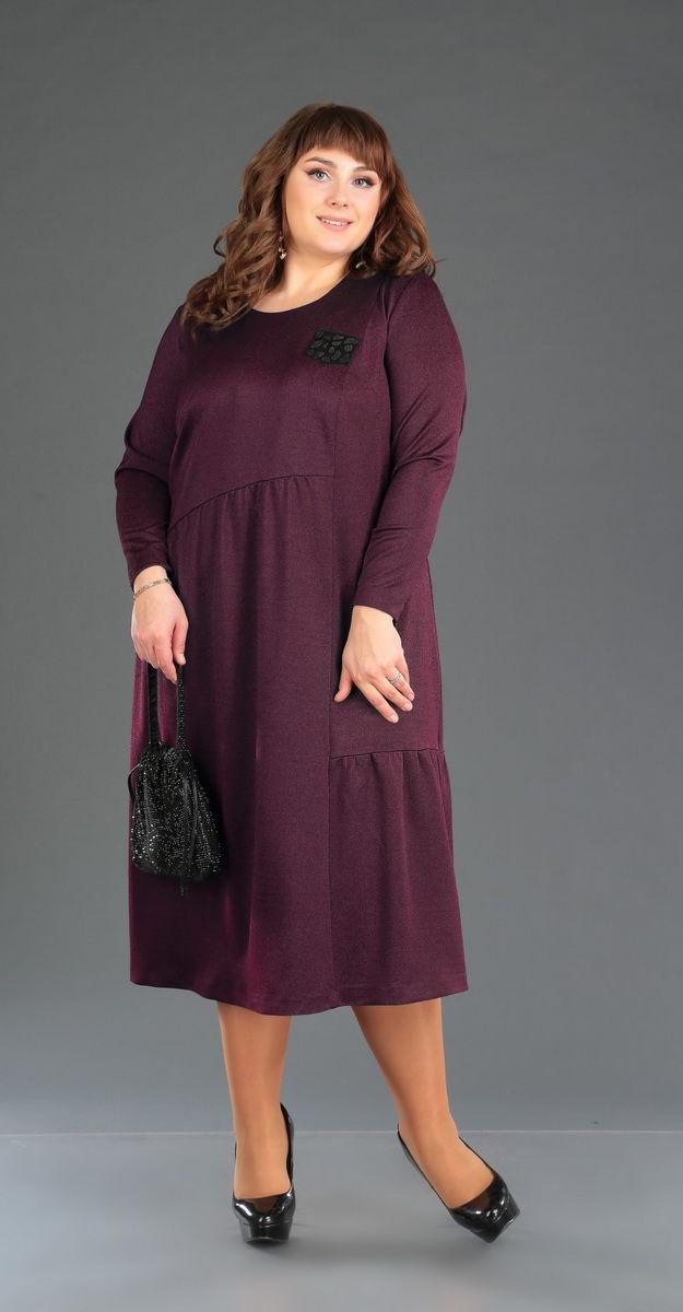 Платье Novella Sharm-3359-3, бордо, 60
