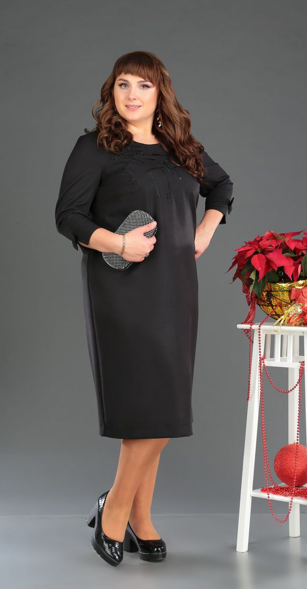 Платье Novella Sharm-3369, черный, 62