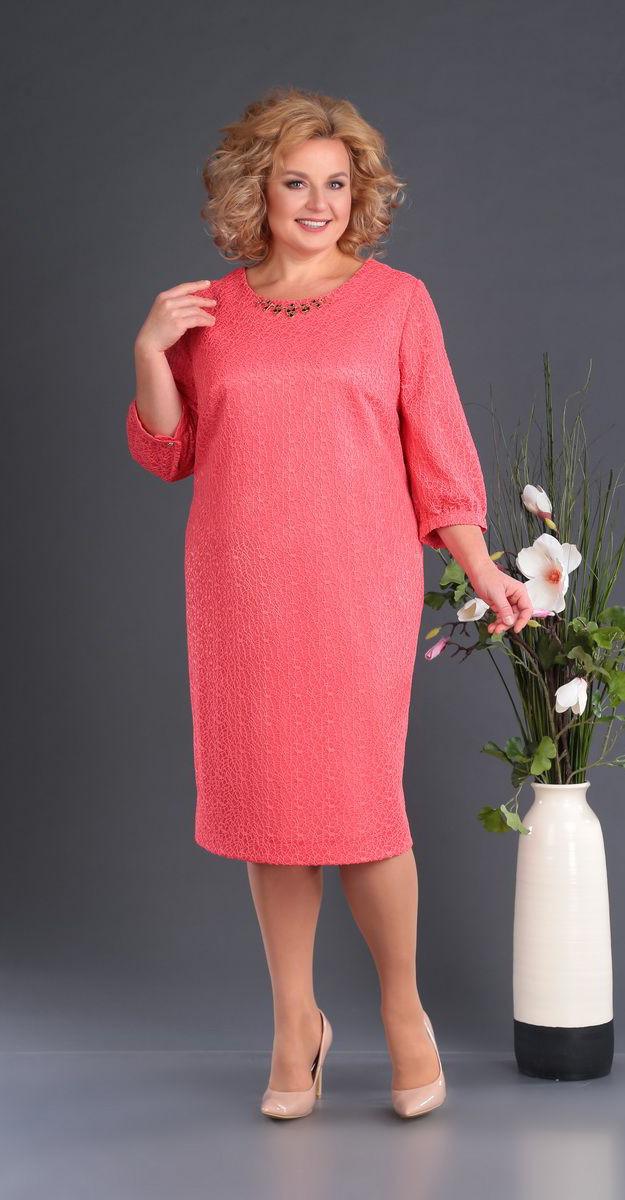Платье Novella Sharm-3381, розовые тона, 60
