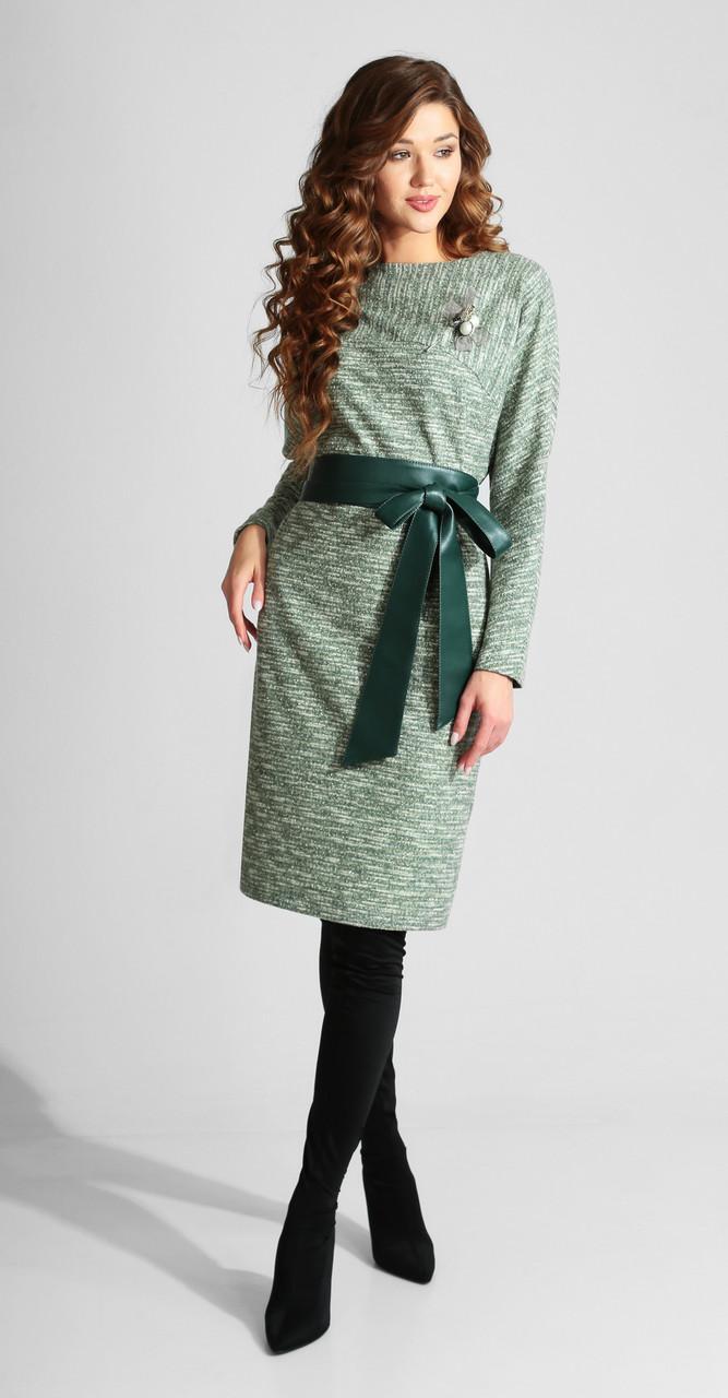 Платье Axxa-55100, серые тона, 50