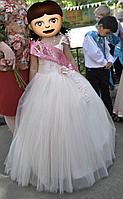 Нарядное бальное платье для девочек (Б/У) на 10-11 лет
