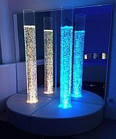 Воздушно-пузырьковая колонна, диаметр 14 см, высота 180 см