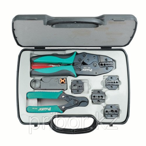 Pro`skit 6PK-330K Набор инструментов для обжима коаксиального кабеля