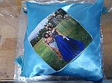 Принт на подушку. Разноцветные подушки, фото 7
