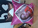 Принт на подушку. Разноцветные подушки, фото 8
