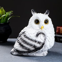Копилка 'Совушка малая' белая 16х18см