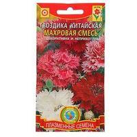 Семена цветов Гвоздика китайская, махровая, смесь, О, 0,2 г (комплект из 10 шт.)
