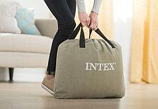 Надувная кровать Intex 64122 (Габариты: 191 х 99 х 42 см) со встроенным насосом, фото 3