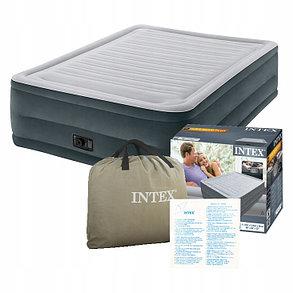 Надувная кровать Intex 64418 (Габариты: 203 х 152 х 56 см) со встроенным насосом, фото 2