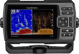 Эхолот для зимней рыбалки Garmin Striker Plus 5cv