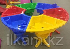 Стол детский песочница пластиковый