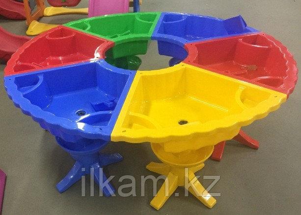 Стол детский песочница пластиковый, фото 2