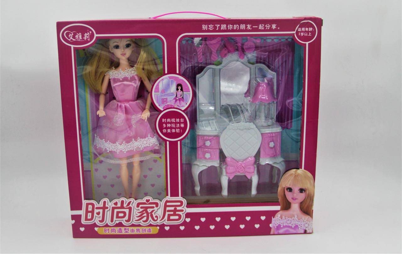 """Набор """"Барби туалетный столик"""""""