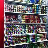 Новогодние шары большие и маленькие. Алматы