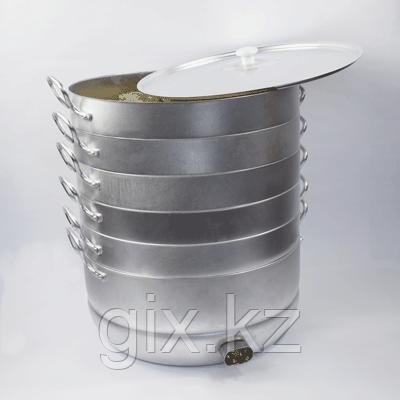 """Электромантоварка """"Праздничная"""" 4 сетки, 15 литров (до 150 мант, 2 кВт)"""