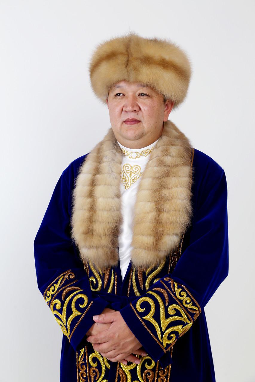 Хансий Шапан ручная вышивка - фото 1