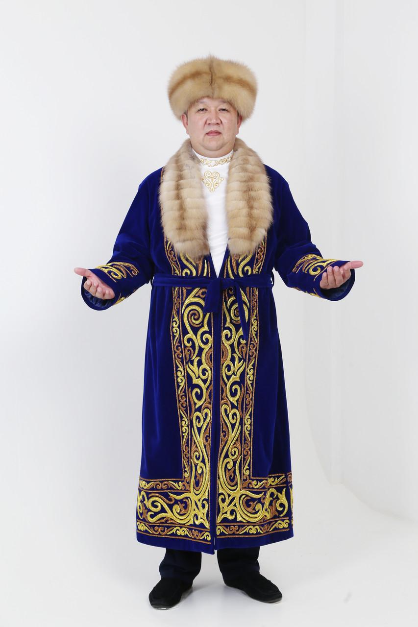 Хансий Шапан ручная вышивка - фото 2