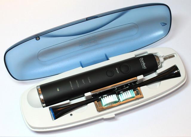 Электрическая ультразвуковая зубная щетка  HSD-010 К2Ч