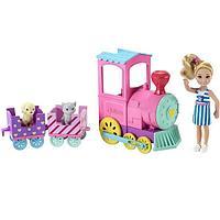 Mattel Barbie FRL86 Барби Паровозик Челси