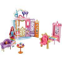 Дом Barbie Переносной радужный дворец FRB15