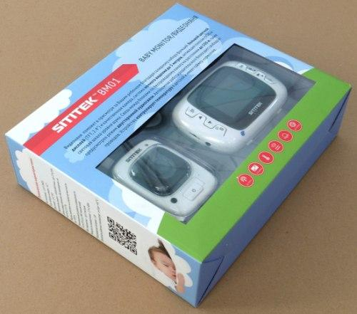 """В упаковке видеоняня """"SITITEK BM01"""" имеет подарочный внешний вид"""