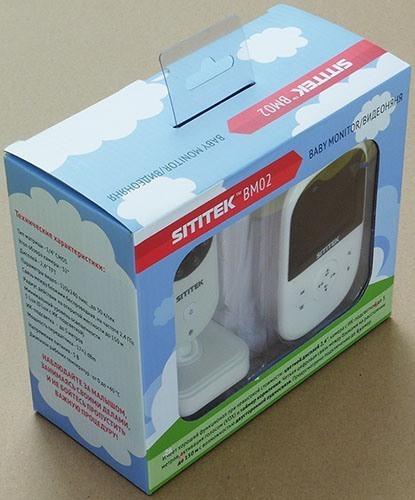 Видеоняня поставляется в красивой подарочной упаковке (увеличение по нажатию)