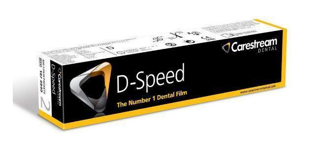 Пленка рентгеновская стоматологическая интраоральная Carestream Health (Kodak) D-Speed. РЕНТГЕН пленка
